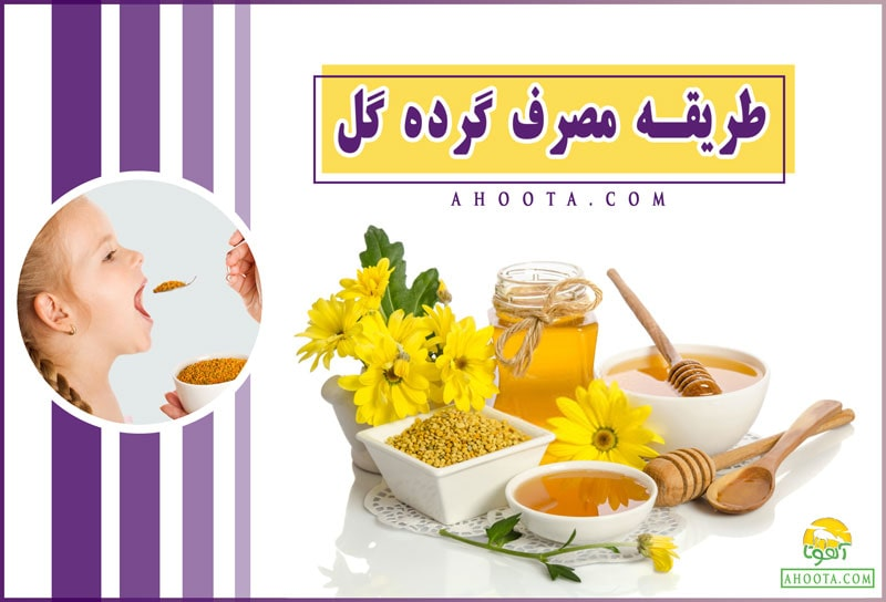 How to use flower pollen min min