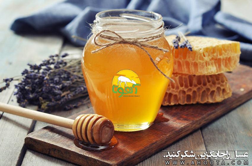 جایگزین کردن عسل با شکر