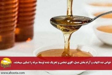 ۵ روش ساده برای درمان سرفه با عسل
