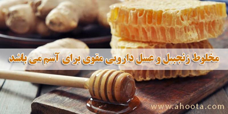 خواص درمانی زنجبیل و عسل