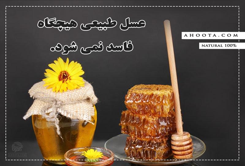 عسل طبیعی فاسد نمی شود