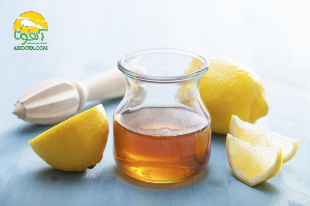 عسل و آب لیمو برای درمان ریزش مو