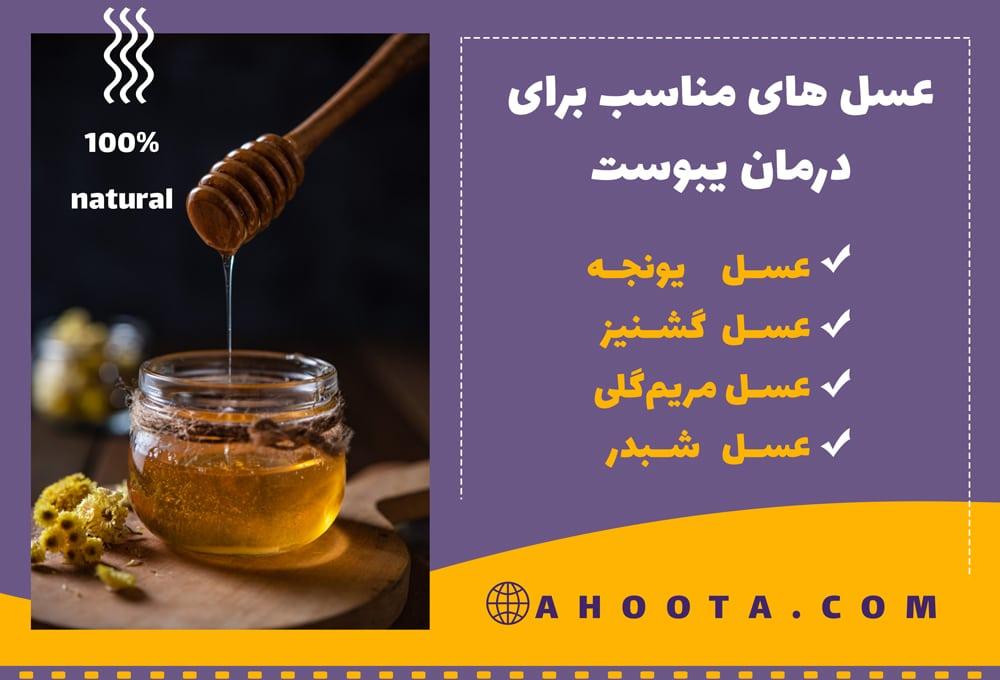عسل برای یبوست