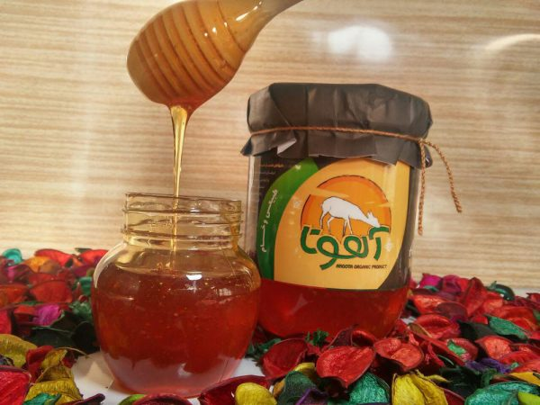 رنگ عسل آویشن
