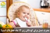بیماری بوتولیسم دراثر مصرف عسل برای کودکان