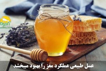 مصرف عسل طبیعی و تقویت حافظه