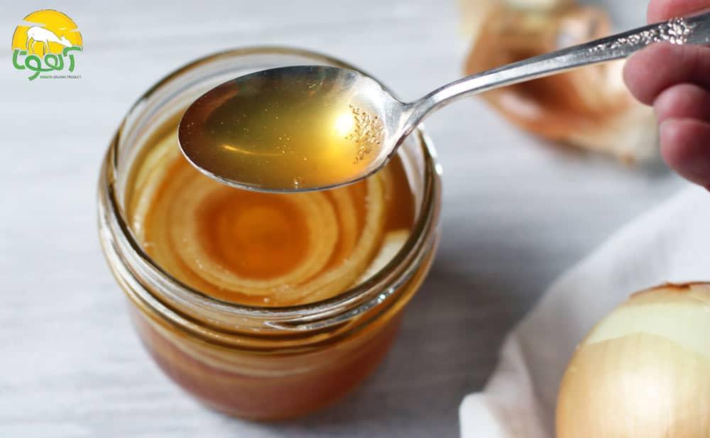 آب پیاز و عسل برای پوست