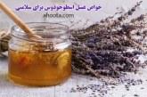 خواص عسل اسطوخودوس طبیعی