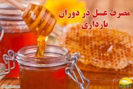 مصرف عسل در بارداری ؛ خواص،مضرات و نحوه مصرف