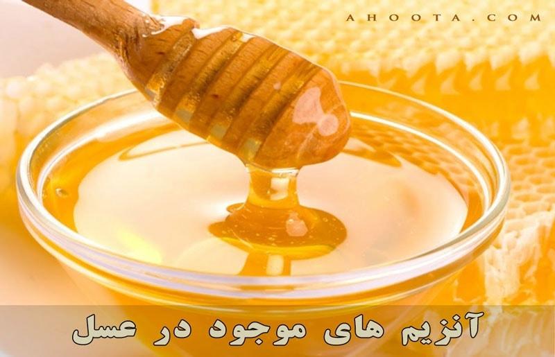 آنزیم های عسل