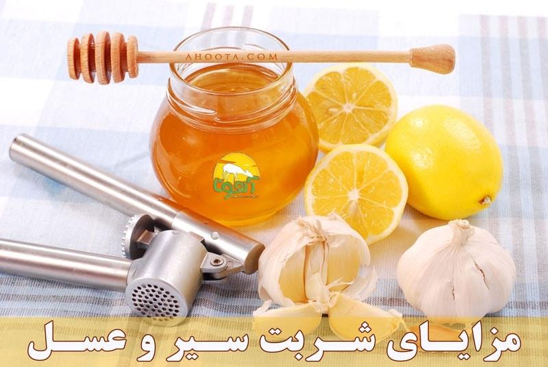 فواید شربت سیر و عسل