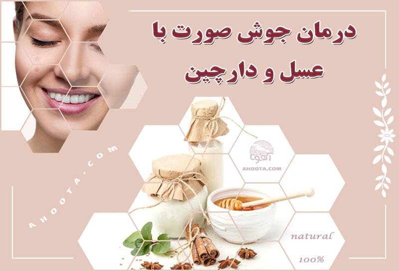 Boiling face treatment with honey and cinnamon