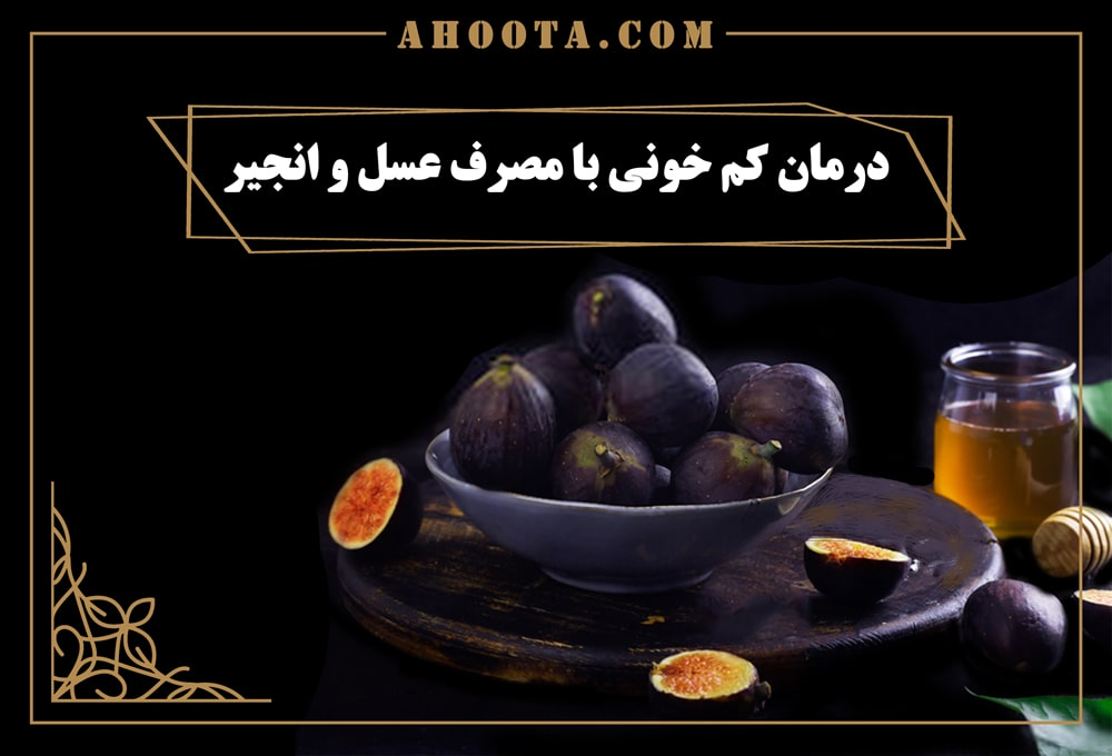 Treatment of anemia with honey and figs
